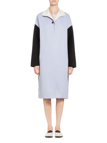 Marni Duster coat in virgin wool Woman