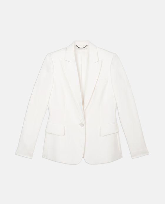 Dalia White Tuxedo Jacket