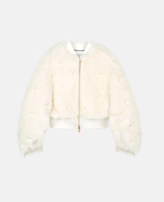 Kiernand Fur Free Fur Bomber Jacket