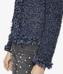 KARL LAGERFELD Bouclé Jacket With Fringes 8_e