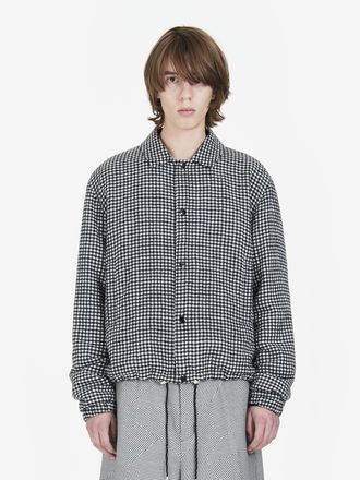 Gingham Windbreaker