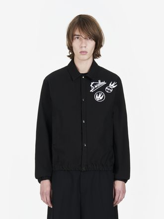 Skater Swallow Badge Windbreaker