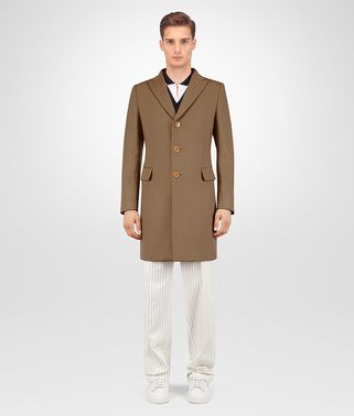 CAPPOTTO IN LANA CASHMERE CAMEL