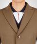 BOTTEGA VENETA CAMEL WOOL CASHMERE COAT Outerwear and Jacket Man ap