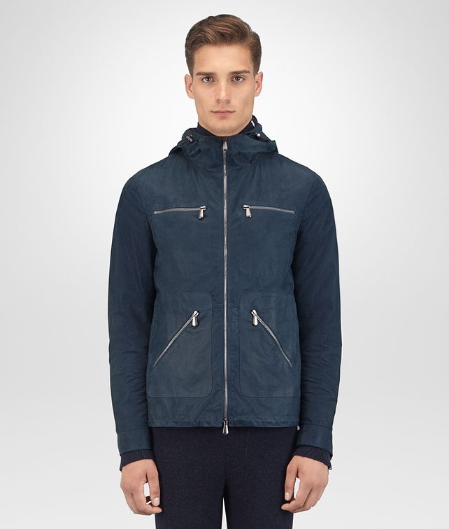 BOTTEGA VENETA DENIM LAMB NABUK JACKET Outerwear and Jacket Man fp