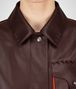 BOTTEGA VENETA DARK BAROLO CALF COAT Coat or Jacket D ap