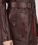 BOTTEGA VENETA DARK BAROLO CALF COAT Coat or Jacket D ep