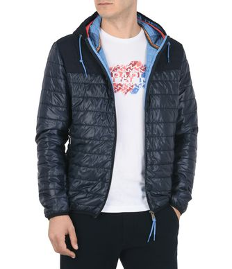 NAPAPIJRI ALBURY MAN PADDED JACKET,DARK BLUE