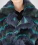 BOTTEGA VENETA MULTICOLOR SHEARLING COAT Outerwear and Jacket Woman ap
