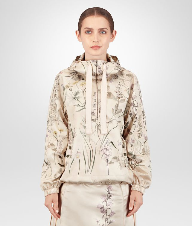 BOTTEGA VENETA BOTANICAL PRINT POLYESTER JACKET Outerwear and Jacket Woman fp