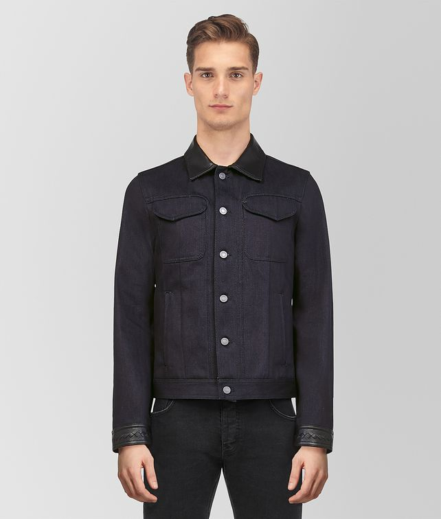 BOTTEGA VENETA DARK NAVY DENIM JACKET Outerwear and Jacket [*** pickupInStoreShippingNotGuaranteed_info ***] fp