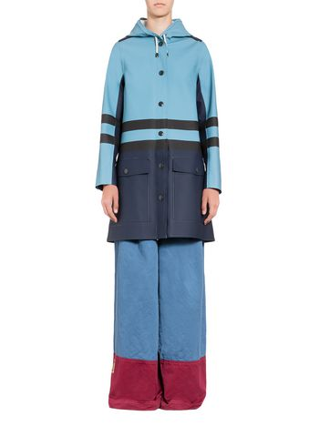 Marni Stutterheim coat for Marni in rubberized cotton Woman