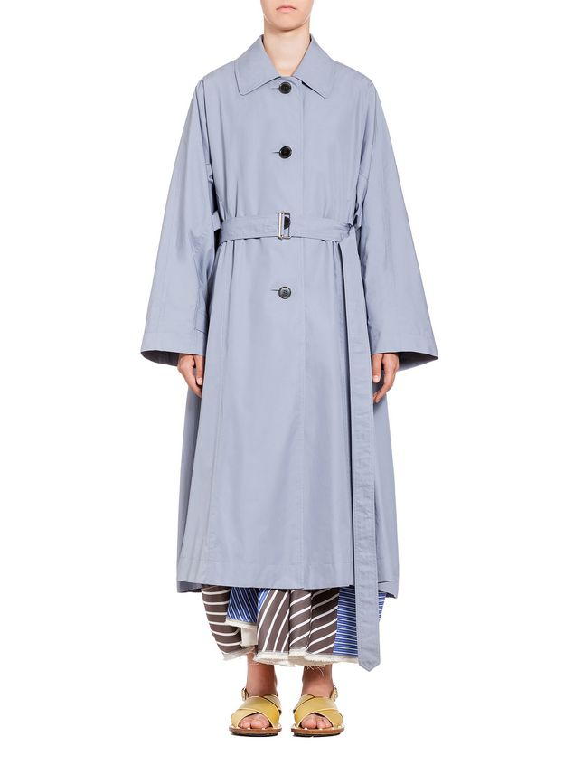 Marni Duster coat in compact cotton reps Woman - 1