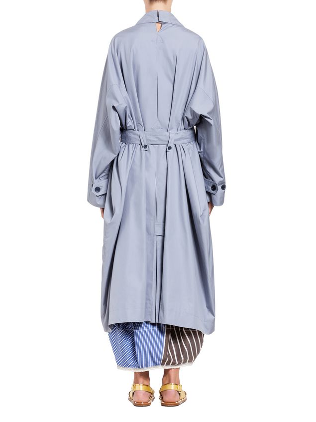 Marni Duster coat in compact cotton reps Woman - 3