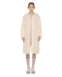 REDValentino Light taffeta long shell jacket