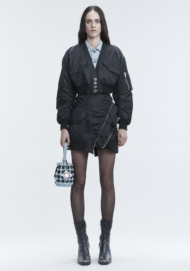 ALEXANDER WANG JACKETS AND OUTERWEAR  Women V-NECK BOMBER