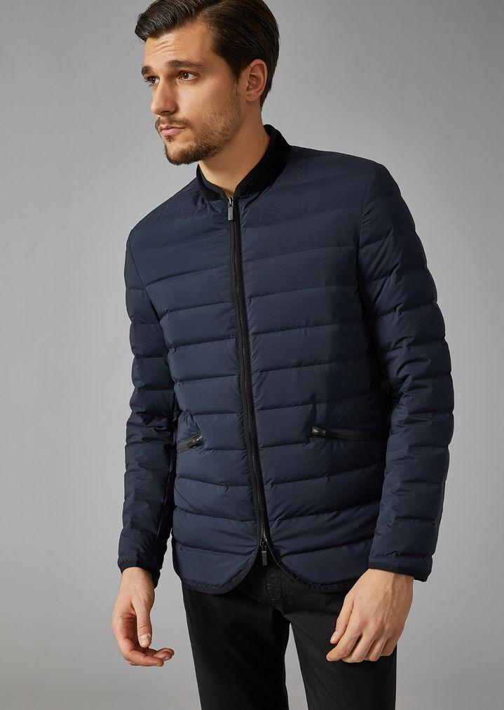 Water-repellent down jacket   Man   Giorgio Armani 50938c49751
