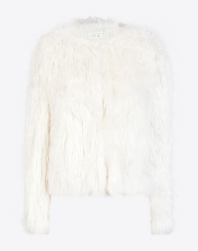 MAISON MARGIELA Jacket D Cropped alpaca jacket f