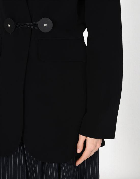 MM6 MAISON MARGIELA Blazer en laine avec des liens torsadés Veste [*** pickupInStoreShipping_info ***] a