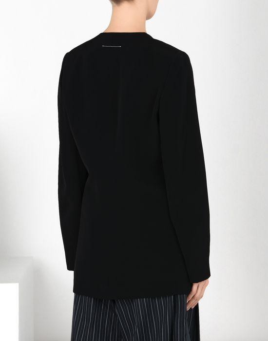 MM6 MAISON MARGIELA Blazer en laine avec des liens torsadés Veste [*** pickupInStoreShipping_info ***] d
