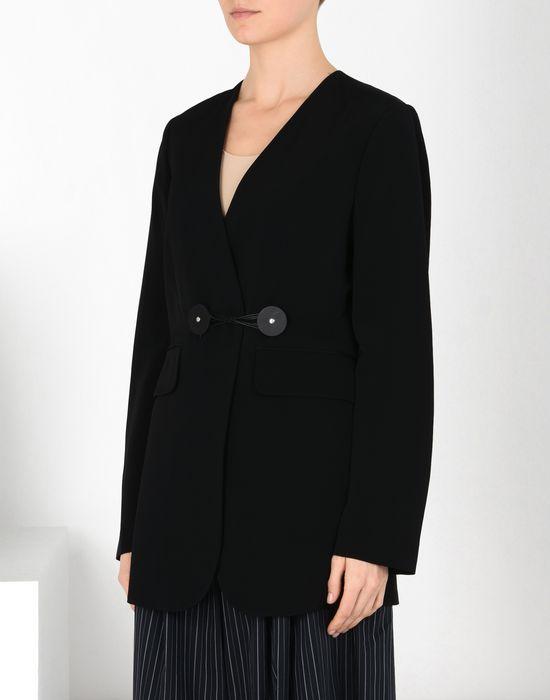 MM6 MAISON MARGIELA Blazer en laine avec des liens torsadés Veste [*** pickupInStoreShipping_info ***] f