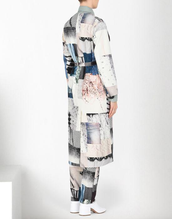 MM6 MAISON MARGIELA Блуза-халат из джинсовой ткани в стиле пэчворк Пальто [*** pickupInStoreShipping_info ***] d