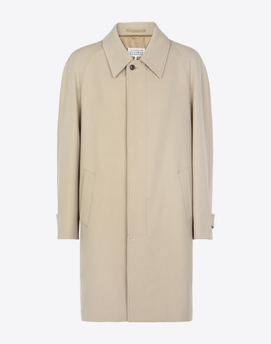 MAISON MARGIELA Raincoat U Virgin wool 'Replica' coat f