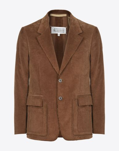 MAISON MARGIELA Blazer U Cotton blazer with flap pockets f