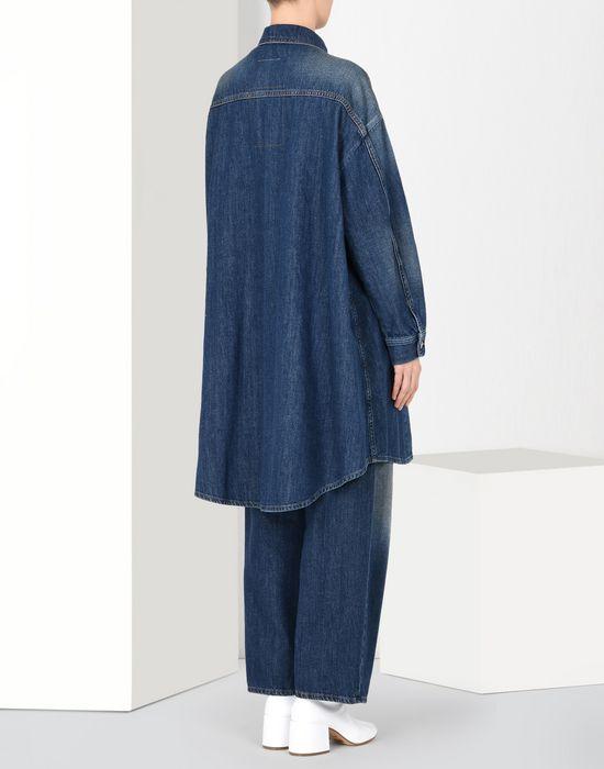 MM6 MAISON MARGIELA Veste en denim extra-large Manteau long Femme d