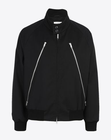 MAISON MARGIELA Light jacket U Two-tone sport jacket f