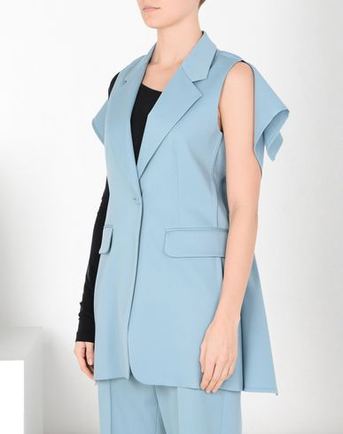 MM6 MAISON MARGIELA Vest Woman Square-back vest f