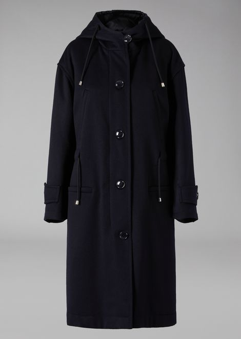 Cashmere flock coat