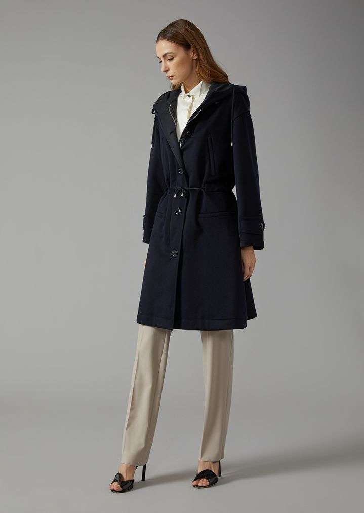 separation shoes ac96e 8210a Cappotto in cashmere con imbottitura in cashmere | Donna ...