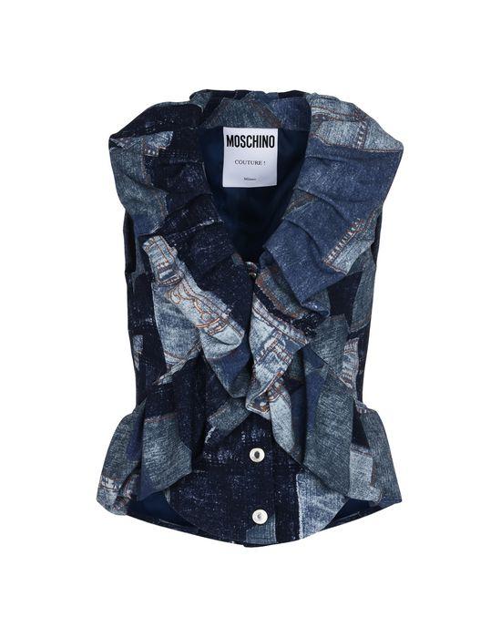 Sleeveless shirt Woman MOSCHINO