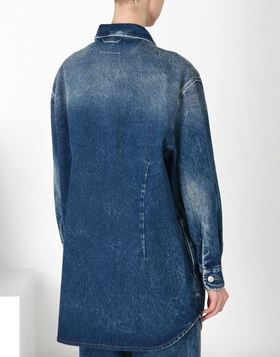 MM6 MAISON MARGIELA Denim jacket with envelope pocket Blazer [*** pickupInStoreShipping_info ***] d