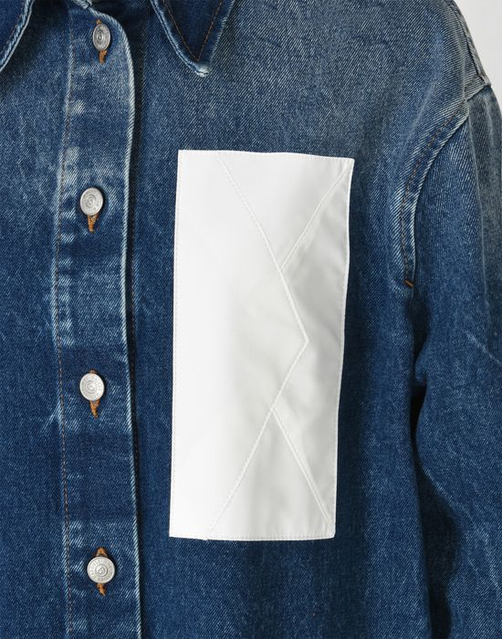 MM6 MAISON MARGIELA Denim jacket with envelope pocket Blazer [*** pickupInStoreShipping_info ***] e