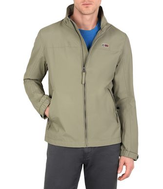 NAPAPIJRI SHELTER MAN SHORT JACKET,MILITARY GREEN