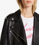 KARL LAGERFELD Oversized Leather Biker Jacket 8_e
