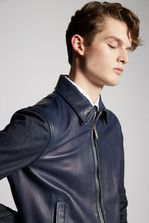 DSQUARED2 Lamb Leather Jacket Leather outerwear Man