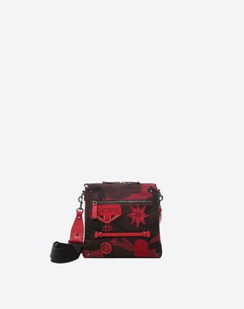 VALENTINO GARAVANI UOMO CROSS BODY BAG U Embroidered Cross Body Bag f