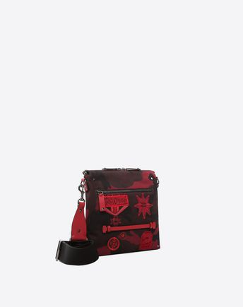 VALENTINO GARAVANI UOMO CROSS BODY BAG U Embroidered Cross Body Bag r