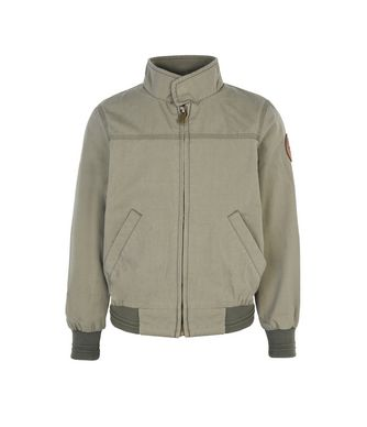 NAPAPIJRI K ASTI KID KID SHORT JACKET,MILITARY GREEN