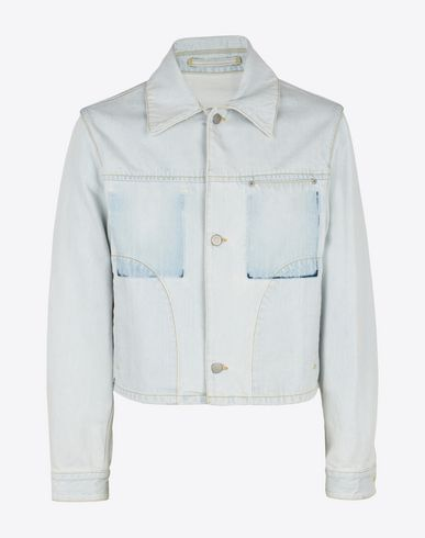 MAISON MARGIELA Jacket U Bleached denim jacket f