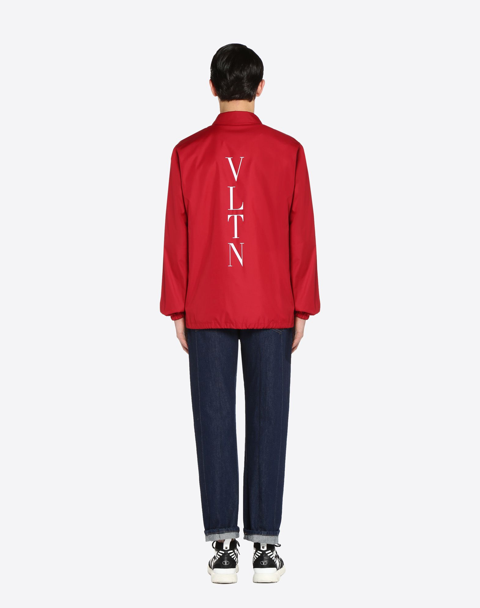 "VALENTINO UOMO ""Coach jacket with VLTN print  ""  JACKET U e"