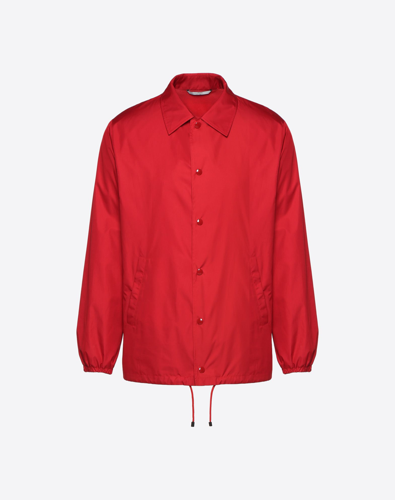 "VALENTINO UOMO ""Coach jacket with VLTN print  ""  JACKET U f"