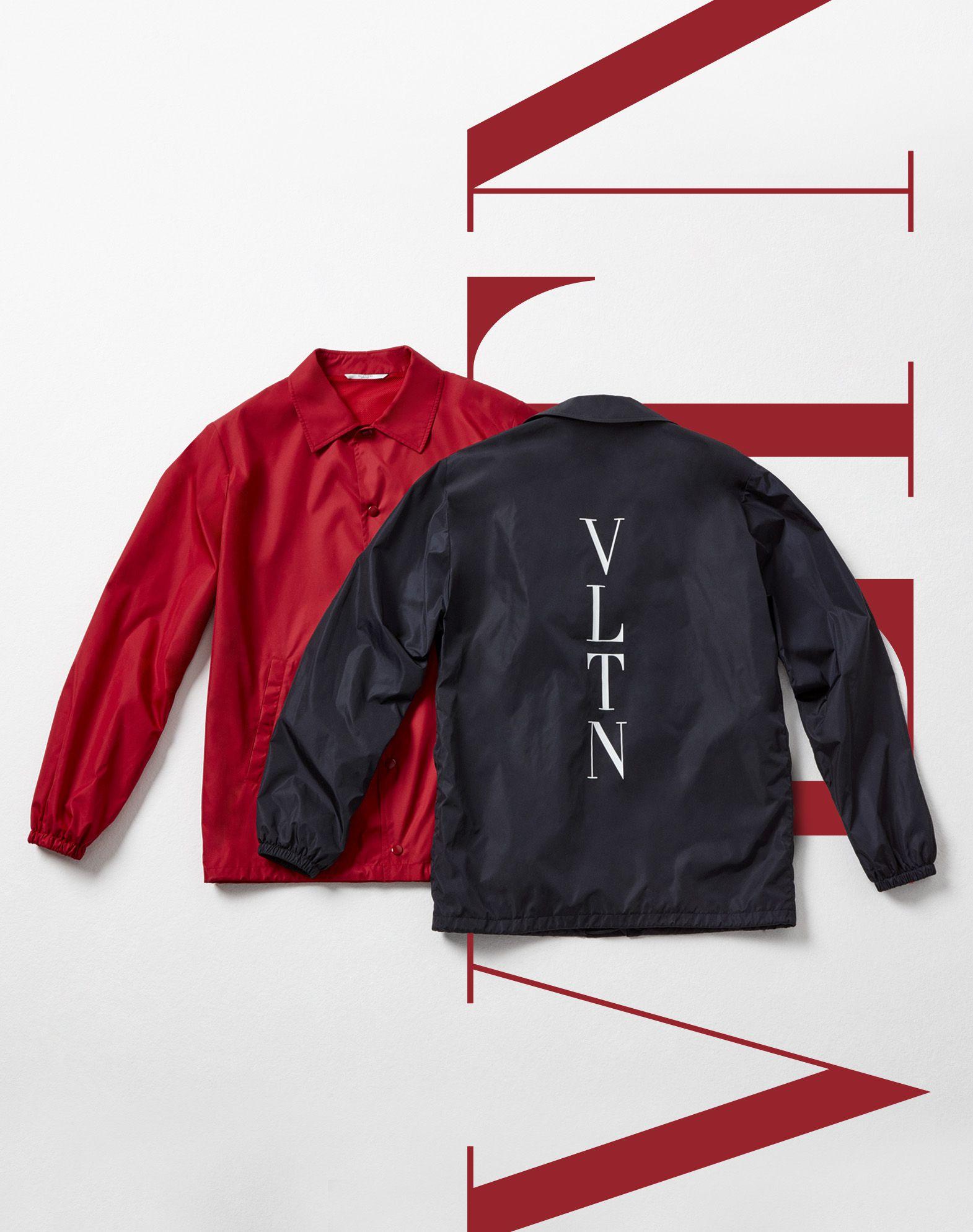 "VALENTINO UOMO ""Coach jacket with VLTN print  ""  JACKET U l"