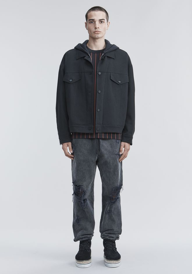 ALEXANDER WANG JACKETS AND OUTERWEAR  Men TRUCKER JACKET