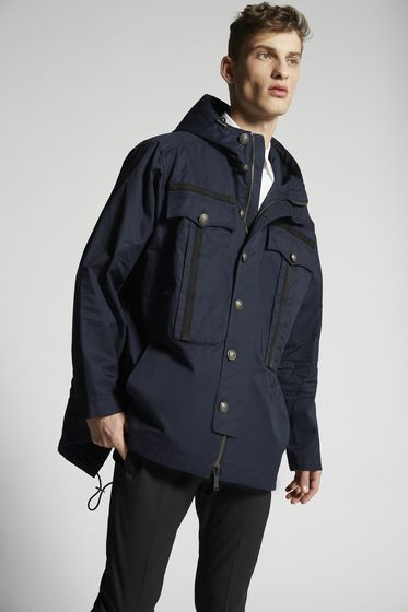 DSQUARED2 Cotton Twill Sportsjacket Jacket Man