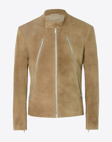 MAISON MARGIELA Leather Jacket U Suede jacket f