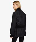 Long Rib Detail Jacket